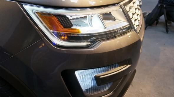 Презентованный автомобиль обзавелся другой новой оптикой