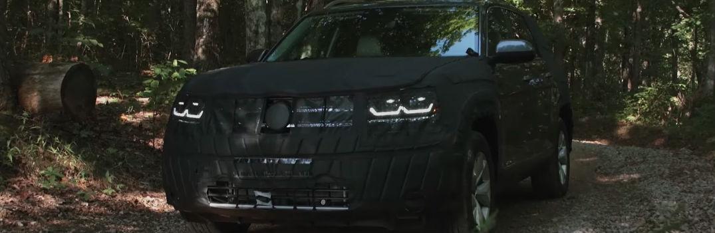 2017 Volkswagen Atlas SUV U.S. Release